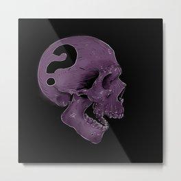 SKULL? Metal Print