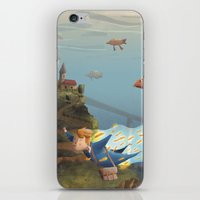 sandman iPhone & iPod Skins featuring Sandman by Maxime Lebrun