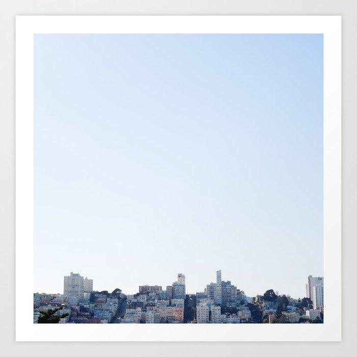 San Francisco Kunstdrucke