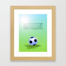 Soccer Framed Art Print