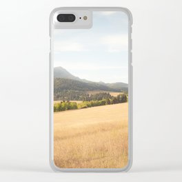Montana Gold IV Clear iPhone Case