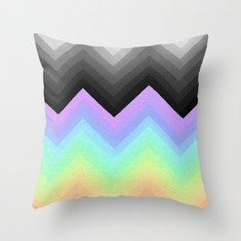 Rainbow Break Throw Pillow