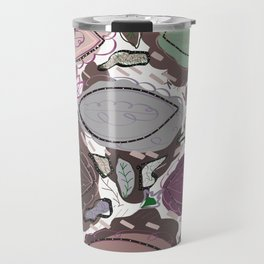 Abstract Active Wear Pattern With Colorful Colors Travel Mug