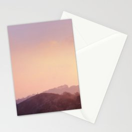 Alone at Sunset Stationery Cards