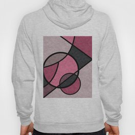 Pink sunrise , abstract Hoody