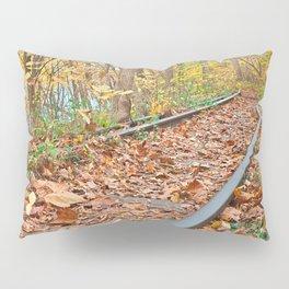 Abandoned Autumn Railroad Pillow Sham