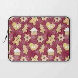 Gingerbread Christmas Cookies Laptop Sleeve