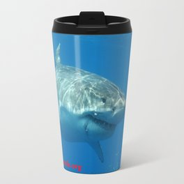 Great White Shark Smile Travel Mug