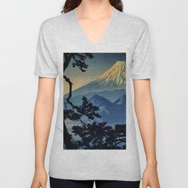 Seeing Far Within at Yonu Unisex V-Neck