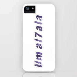 umal7ala iPhone Case