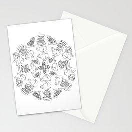 Pug life Stationery Cards