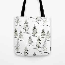 Winter forest. Tote Bag