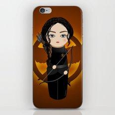 Kokeshi Katniss iPhone & iPod Skin