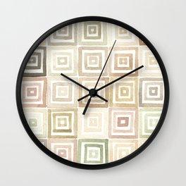 #43. DANIEL - Squares Wall Clock