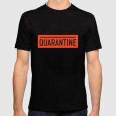 Quarantine Mens Fitted Tee Black MEDIUM