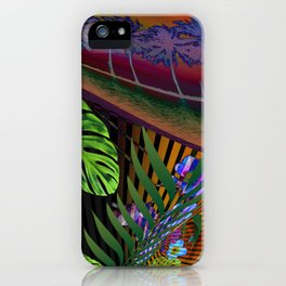 Island Wave by Kenny Rego iPhone Case