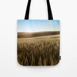 Palouse Sunset Photography Print Tote Bag
