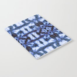 Blue Oxford Shibori Notebook