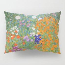 Gustav Klimt - Flower Garden Pillow Sham