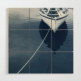 Row Row Row Your Boat Wood Wall Art