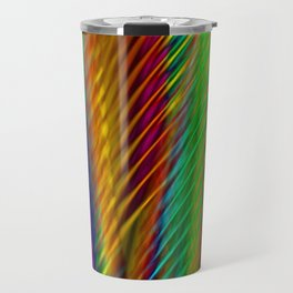 Feathers in Abstract Travel Mug