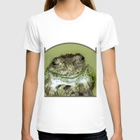 frog T-shirts featuring Frog by Kathleen Stephens