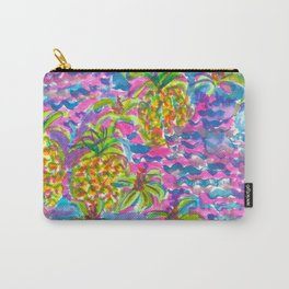 Sea of Pineapples Carry-All Pouch