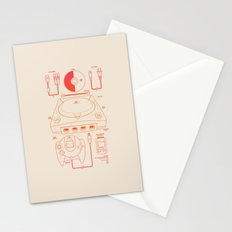 Dream Machine Stationery Cards