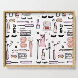 Makeup Love Serving Tray