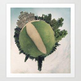 Manor Context  Art Print