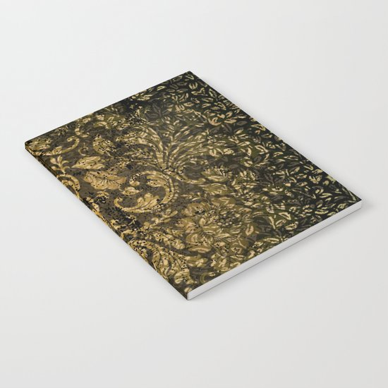 Decorative damask Notebook