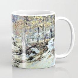 Winter Sunlight - Theodore Clement Steele Coffee Mug