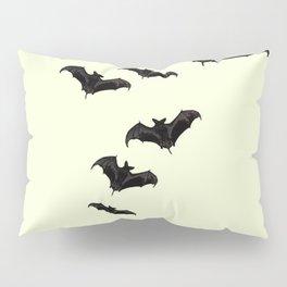 MYRIAD BLACK FLYING BATS DESIGN Pillow Sham