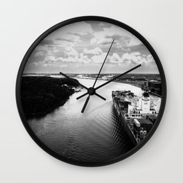 Savannah River Cargo Wall Clock