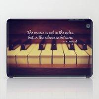 mozart iPad Cases featuring Mozart Music by KimberosePhotography