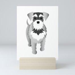 Miniature Schnauzer Mini Art Print