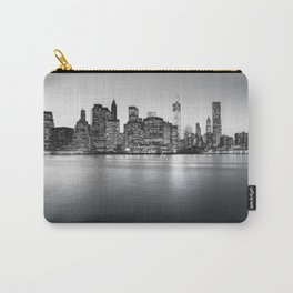 New York City Skyline - Financial District Carry-All Pouch