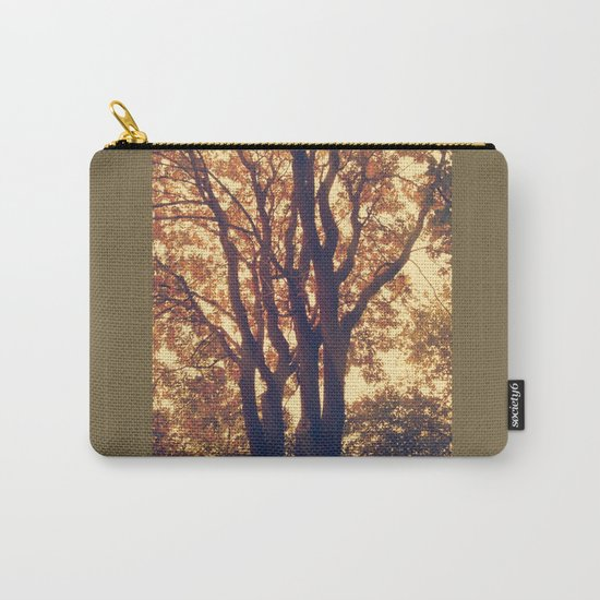 old forest at twilight Carry-All Pouch