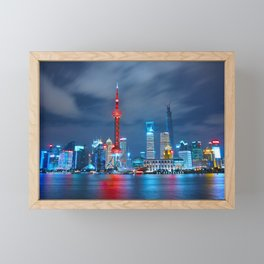 Shangai, China Framed Mini Art Print