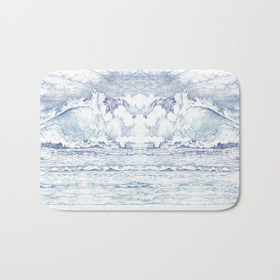The Wave Bath Mat