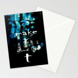 make art your life Stationery Cards
