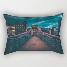 Bridging The Gap. Rectangular Pillow