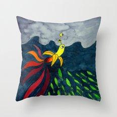 The Aventure of a Banana Throw Pillow