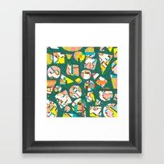 Schema 20 Framed Art Print
