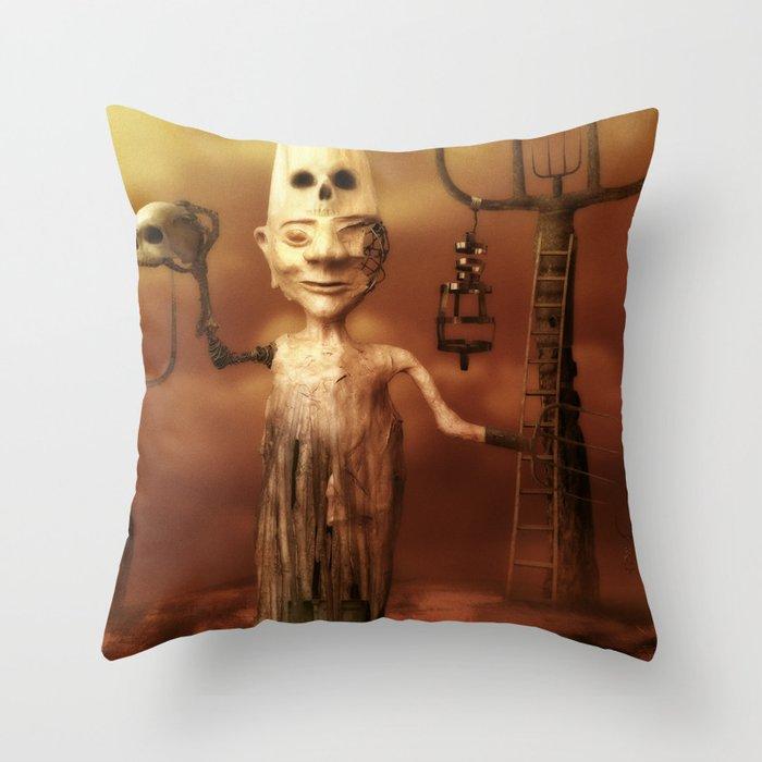 Pesonal Pandemonium Throw Pillow