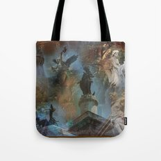 Rome Statues with color Tote Bag