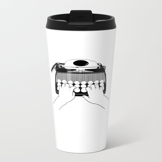 Good Morning, Dear Metal Travel Mug