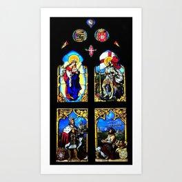 Palace Pena Chapel  Art Print
