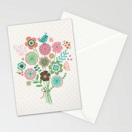 Bird bouquet Stationery Cards