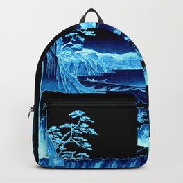 The Sea at Satta : Blue Backpack